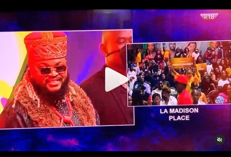 Moment Whitemoney was announced as winner of Big Brother Naija