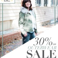 Flash Sale: 30% Off All Outerwear
