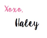 XOXO Haley