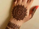 mehndi dot design