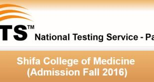 Shifa College of Medicine NTS Answer Key Result