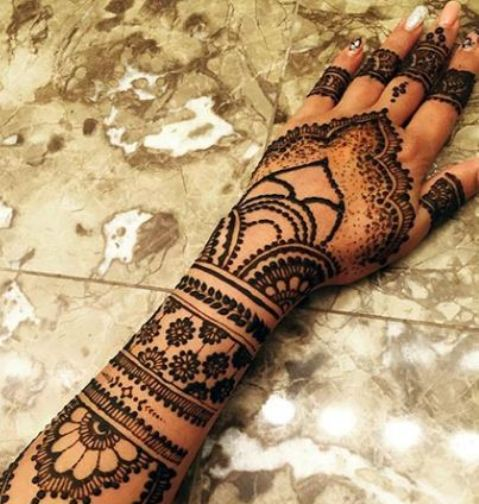 Latest and new henna designs
