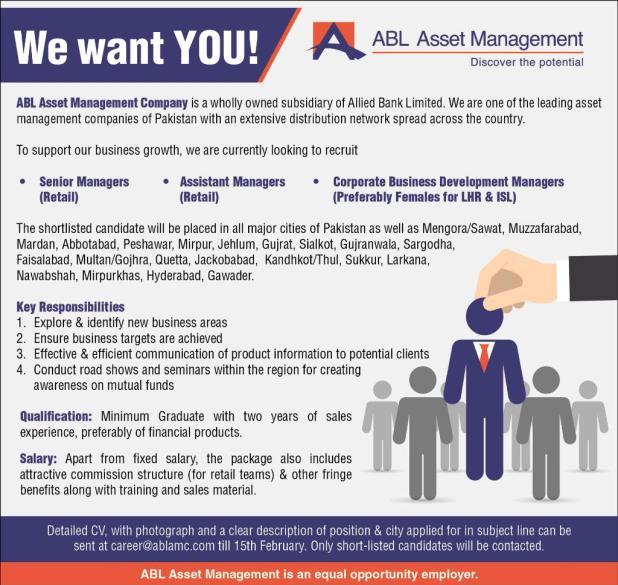 ABL Career