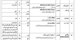 jobs in State Life Insurance Corporation of Pakistan
