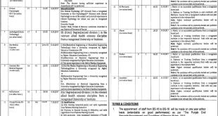 government jobs in faisalabad