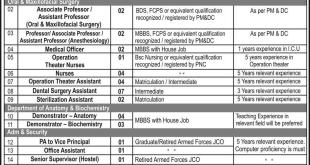cmh hospital lahore vacancies 2017