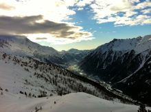 One of the best ski days yet: January 1 in Chamonix