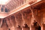 Beautiful elephants at Agra Fort