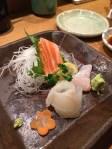 Sashimi plate at Jin Kichi