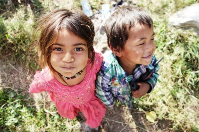 Wonderful children, India 2013.