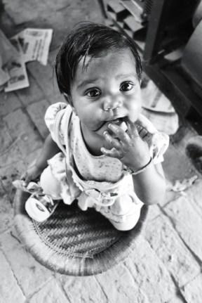 A beautiful Indian girl, 2013.