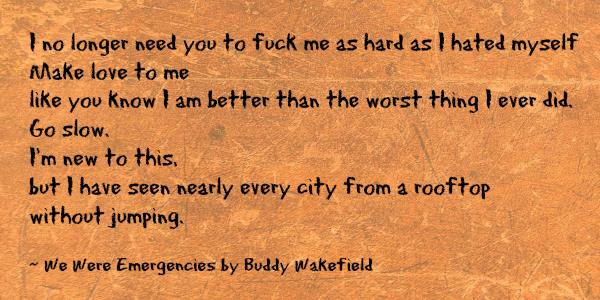 BuddyWakefield
