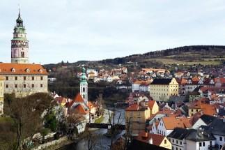 A View of Northern Český Krumlov