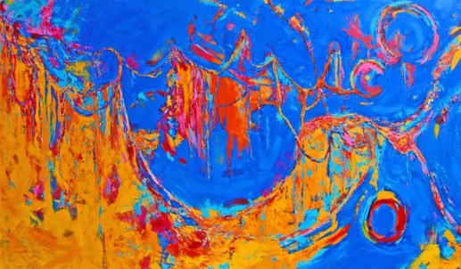 Abstract Painting entangle April 2015 028 copy