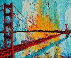 Golden Gate Bridge 20 x 24