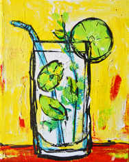 Mojito tropical drinks coctail alcohol beverage