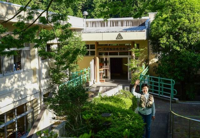 大杉谷自然学校の風景 校舎
