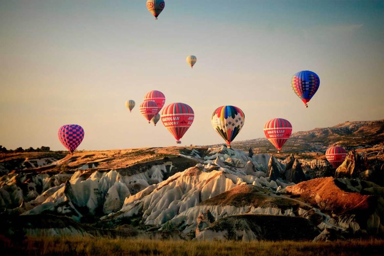 Bucket List: Hot Air-Ballooning in Cappadocia