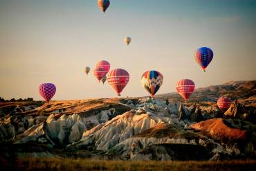 Bucket List: Hot Air-Ballooning in Cappadocia