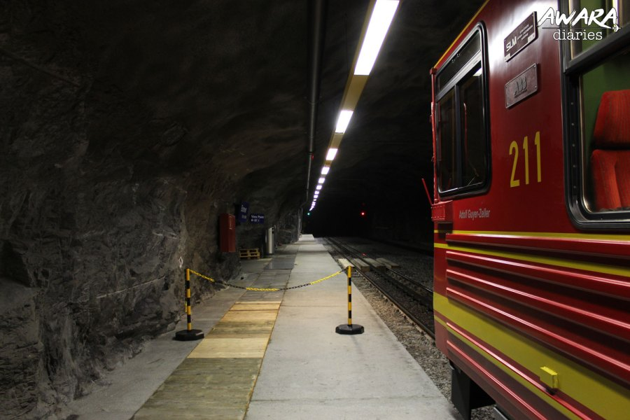 Jungfraujoch The Engineering