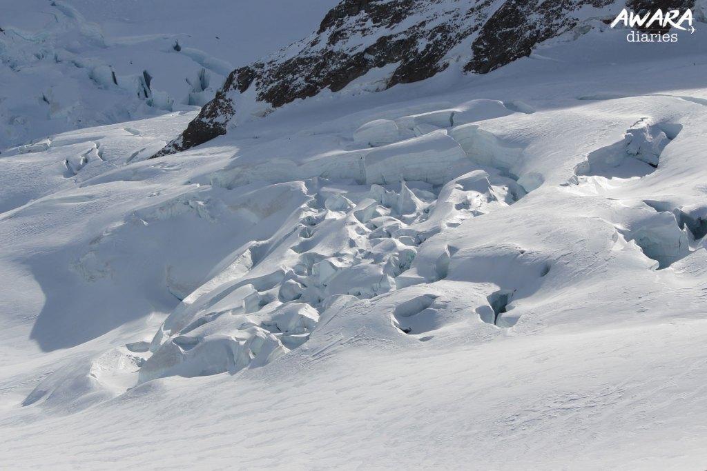 Jungfraujoch Top view 4