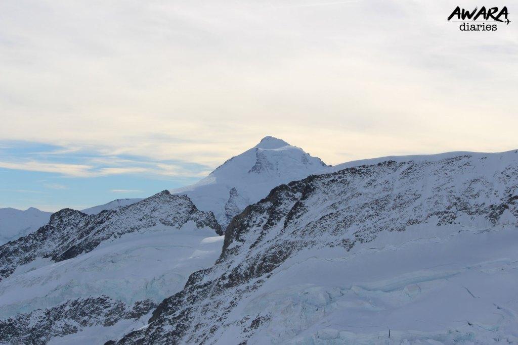 Jungfraujoch Top view 2