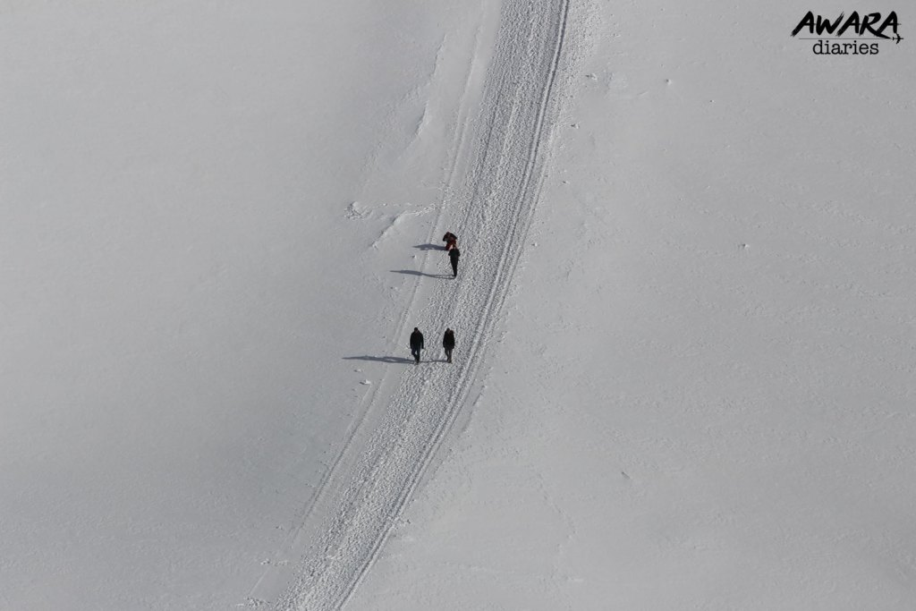 Jungfraujoch Top view 1