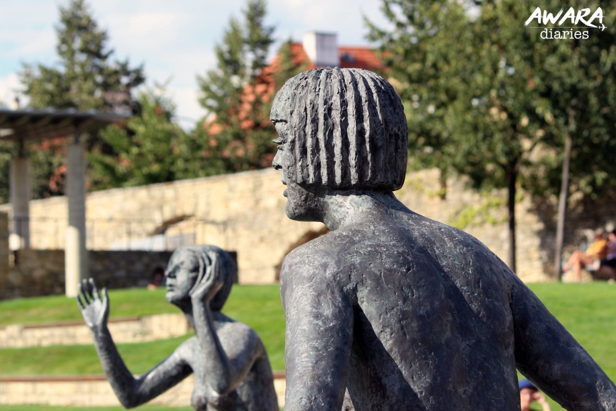 Sculptures of Olbram Zoubek