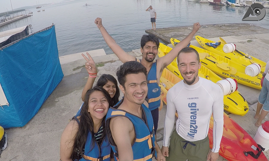 Sea Kayaking with Given2Fly Adventures