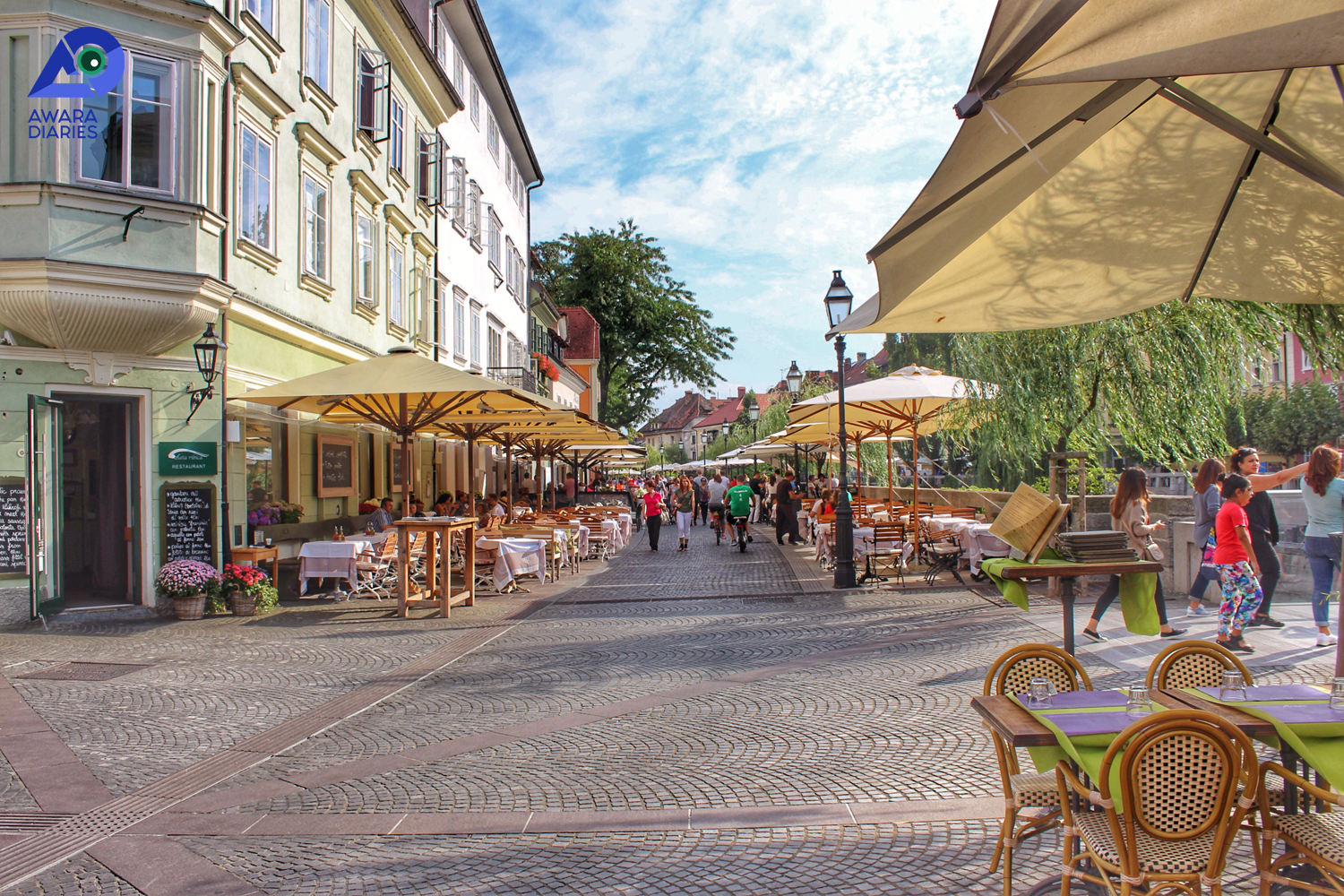 Cafes & Restaurants in Ljubljana