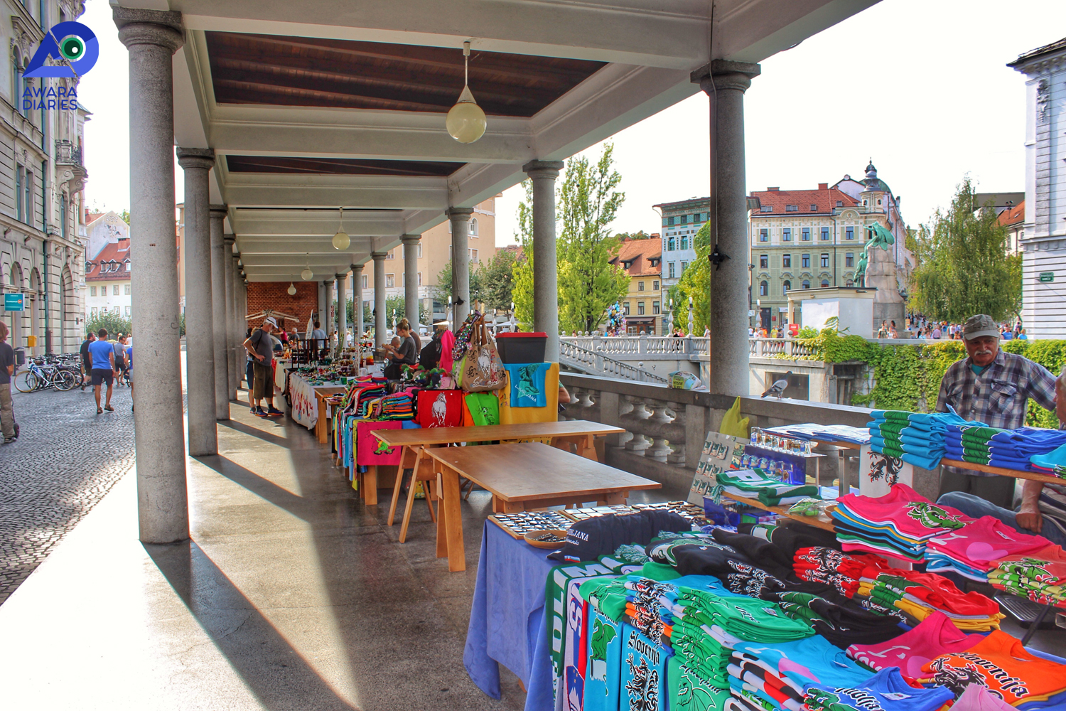 Shopping in Ljubljana