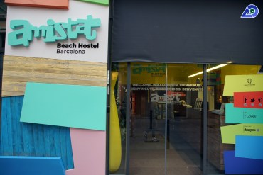 Review: Amistat Beach Hostel, Barcelona