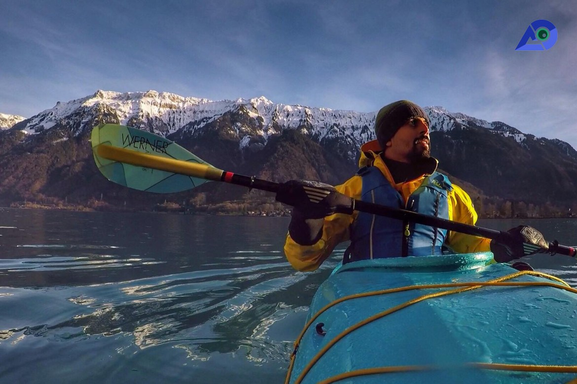 Winter Kayaking In Switzerland: The Most Surreal Experience Ever!