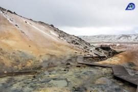 Seltún Geothermal Area, Krýsuvík, Reykjanes peninsula