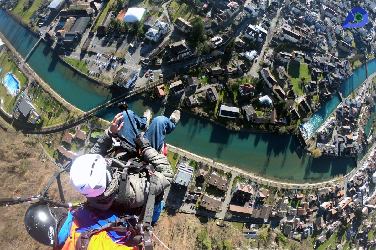 Paragliding in Interlaken 3