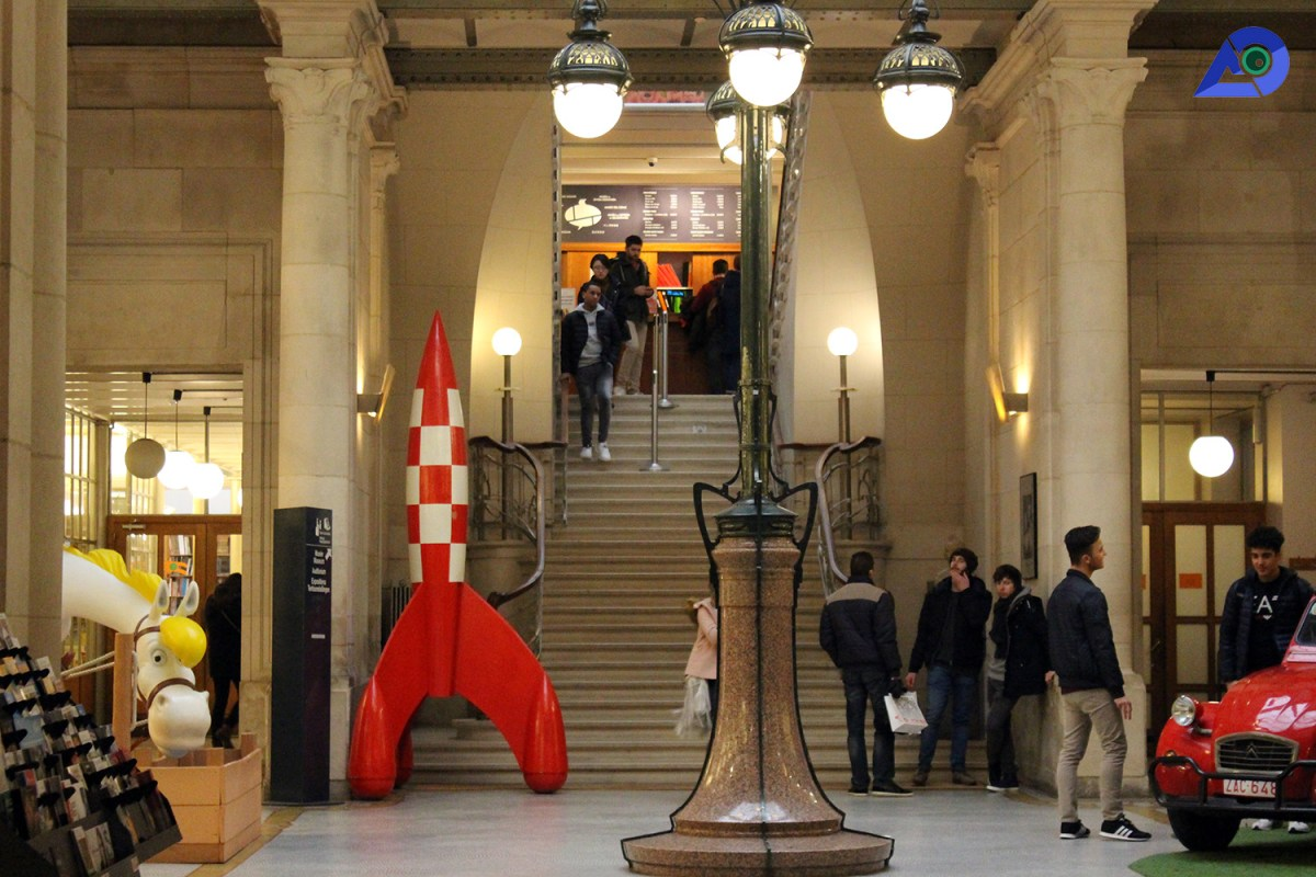 Belgian Comic Strip Center 1