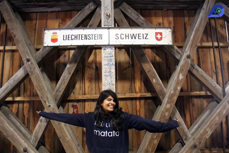 Alte Rheinbrücke Vaduz Liechtenstein