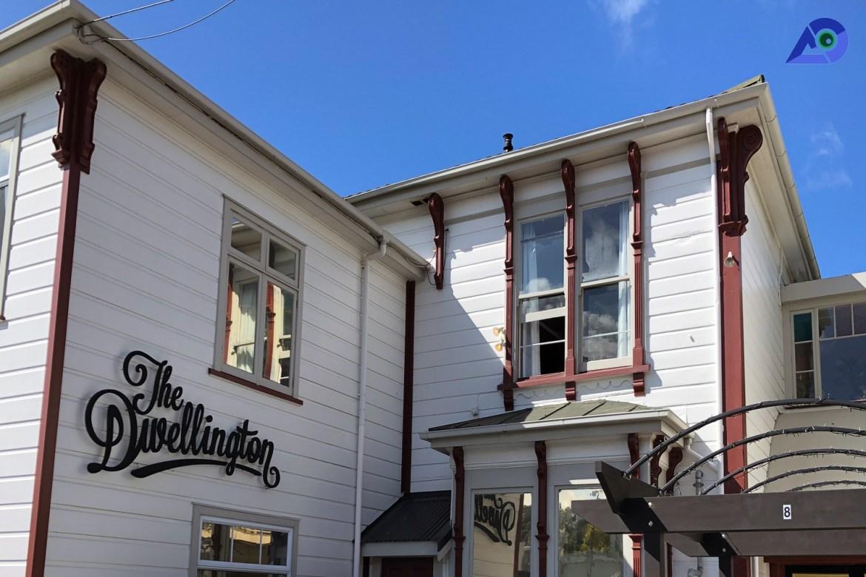Location of the Dwellington, Wellington