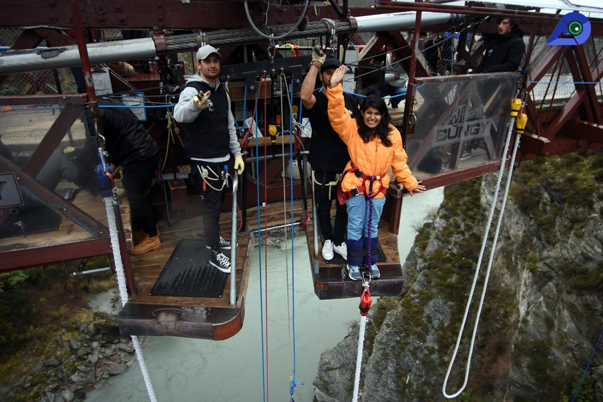 Parampara at Kawarau Bridge Bungy