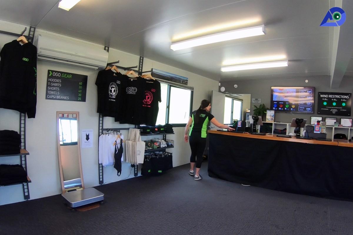 Reception at ZORB Rotorua