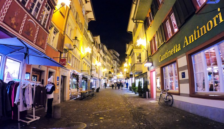 Christmas markets of Zurich