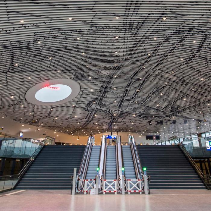 Plafond station Delft