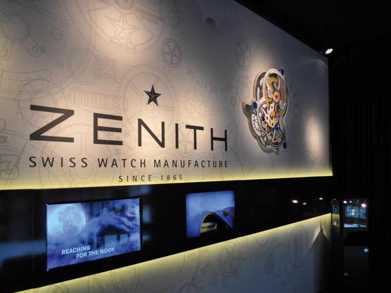 Zenith pop-up store