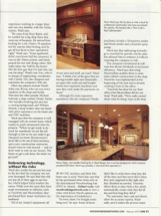 A Ward Design Magazine Article