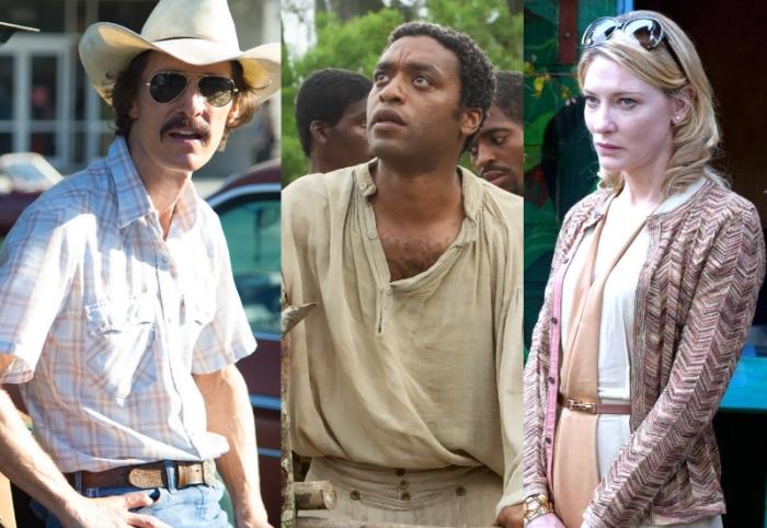 Spirit Award winner Matthew McConaughey, 12 Years a Slave and Cate Blanchett