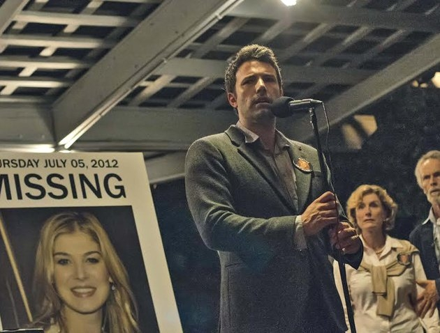 Ben Affleck and Rosamund Pike star in David Fincher's Gone Girl