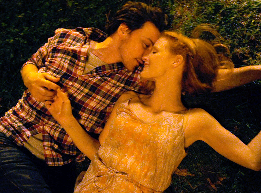 James McAvoy and Jessica Chastain in The Disappearance of Eleanor Rigby