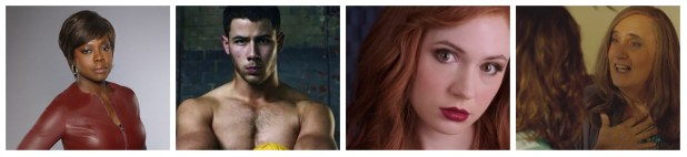 Viola Davis, Nick Jonas, Karen Gillan and Jeffrey Tambor are in this fall's hottest new shows