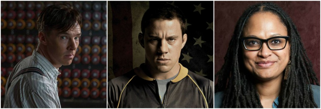 From left; The Imitation Game, Foxcatcher and Selma all face controversy as Oscar season heats up
