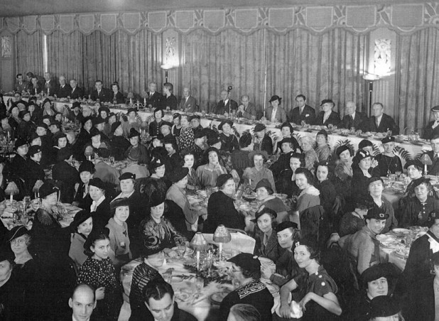 The 1936 National Board of Review Awards Luncheon at the Hotel Pennsylvania